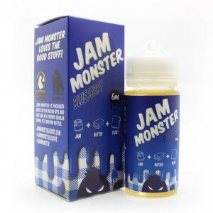 Jam Monster Blueberry Jam (100ml)