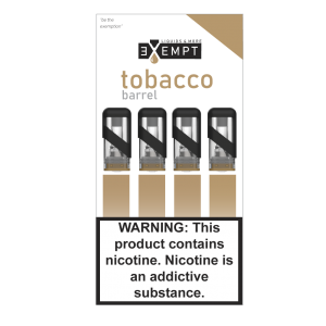 Remit Tobacco Barrel Nic Salt Pod Packs (Pack of 4)