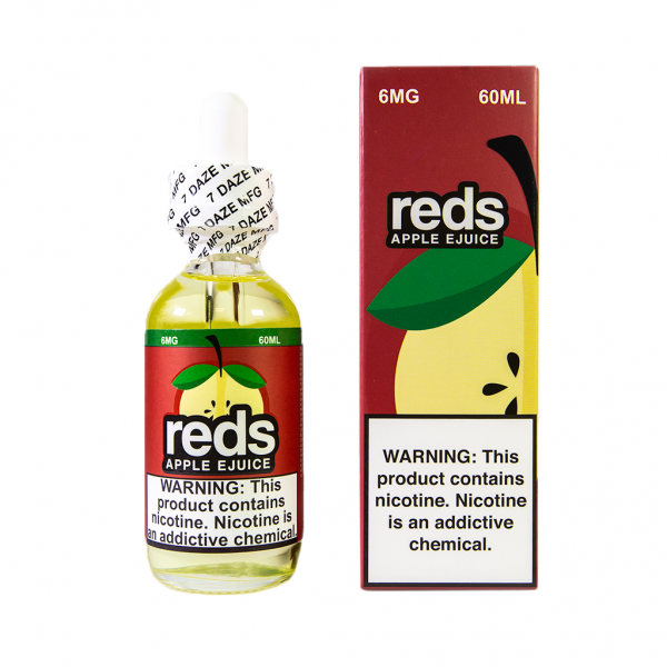 Vape 7 Daze Reds Apple (60ml)